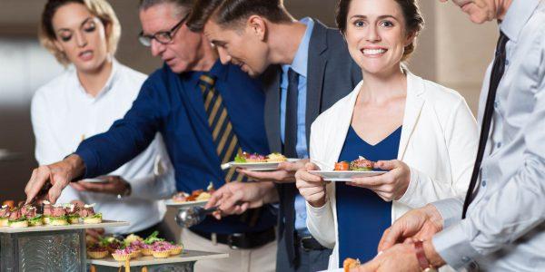 Catering-bedrijfsfeest